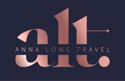 anna lowe travel logo